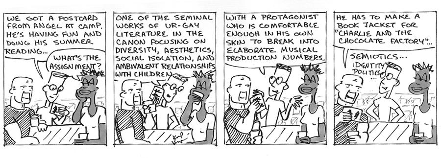 The Regulars #<233>: <205.  SUMMER READING  7/15/11>