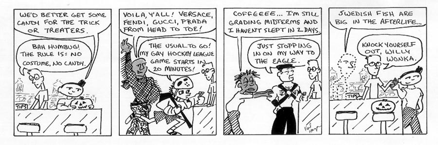 The Regulars #<28>: <11.  Trick Or Treat>