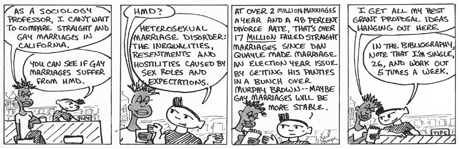 The Regulars #<59>: <50.  MARRIAGE INEQUALITY>
